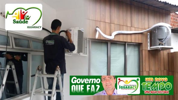 Casa de Apoio no Recife agora conta com Ar Condicionados nos quartos, mais um presente da administração Zeinha Torres para a população.