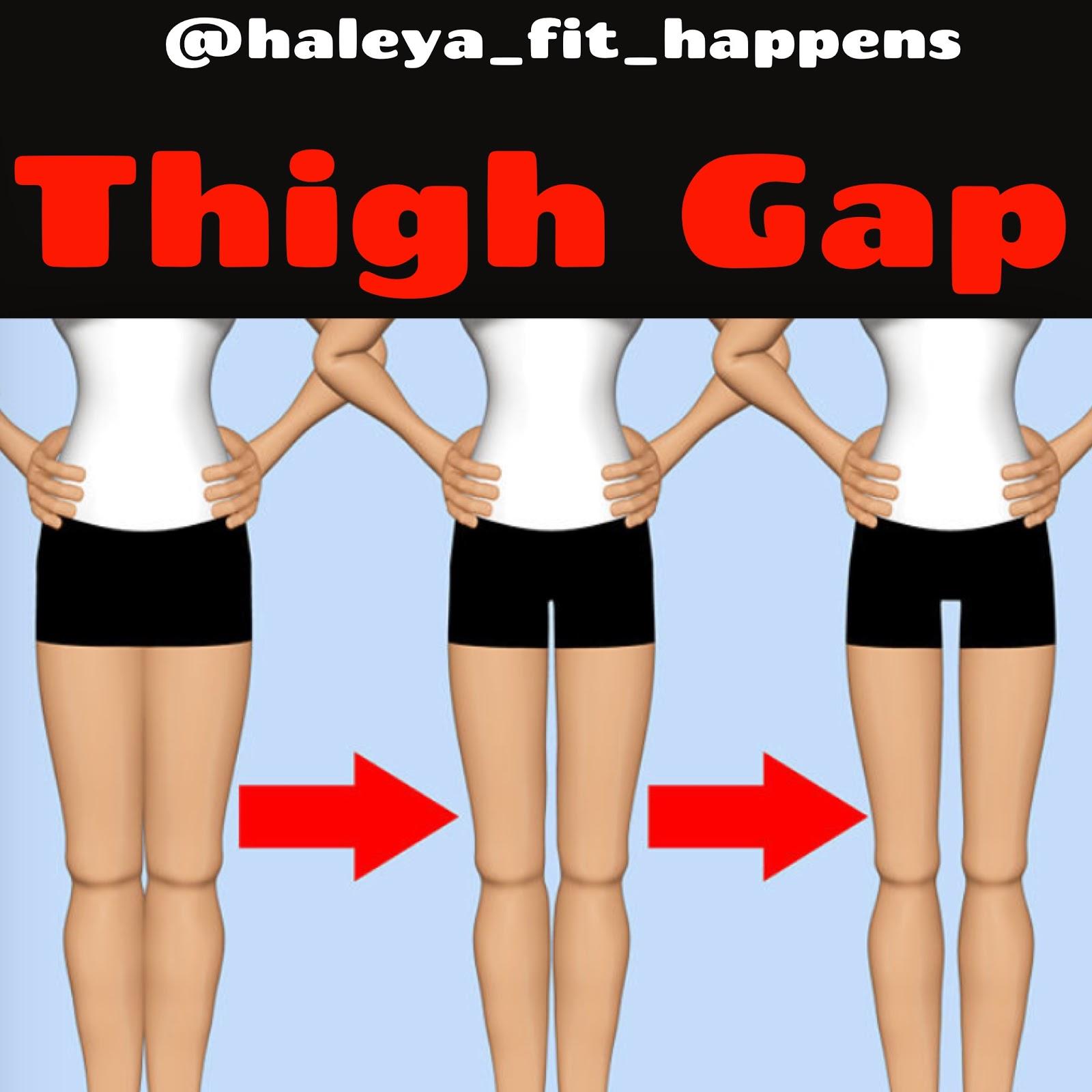 Gap between thigh