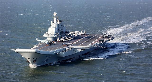 """Midia da China se diz """"está pronta a aumentar frota de porta-aviões se igualando aos EUA"""""""