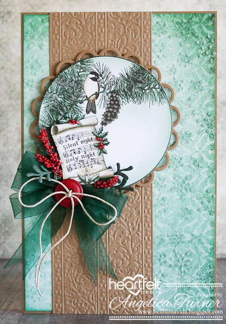 Silent Night Masculine Card