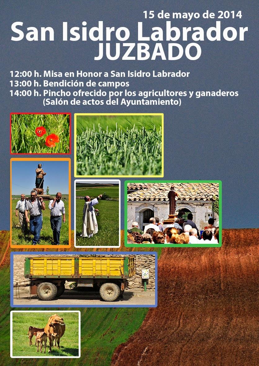 Juzbado, san isidro labrador 2014