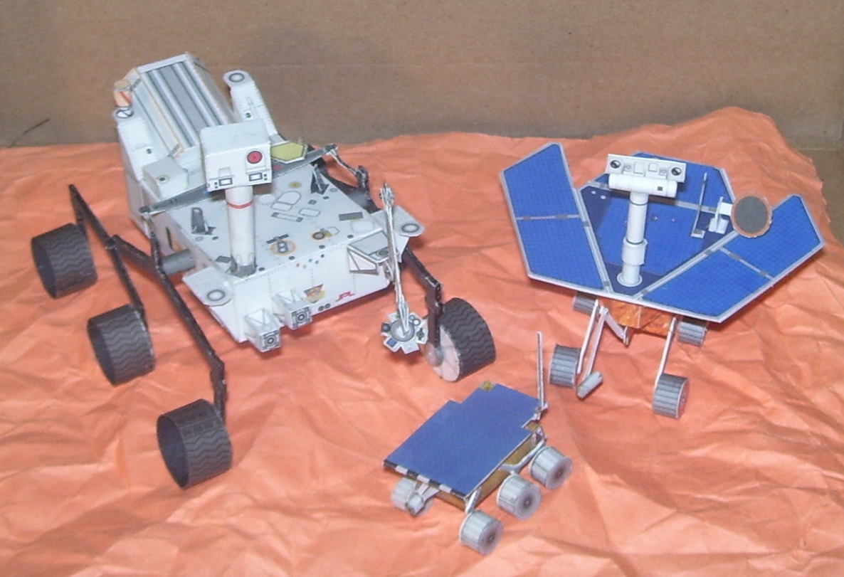 Papercraft Mars Rover Curiosity (page 3) - Pics about space