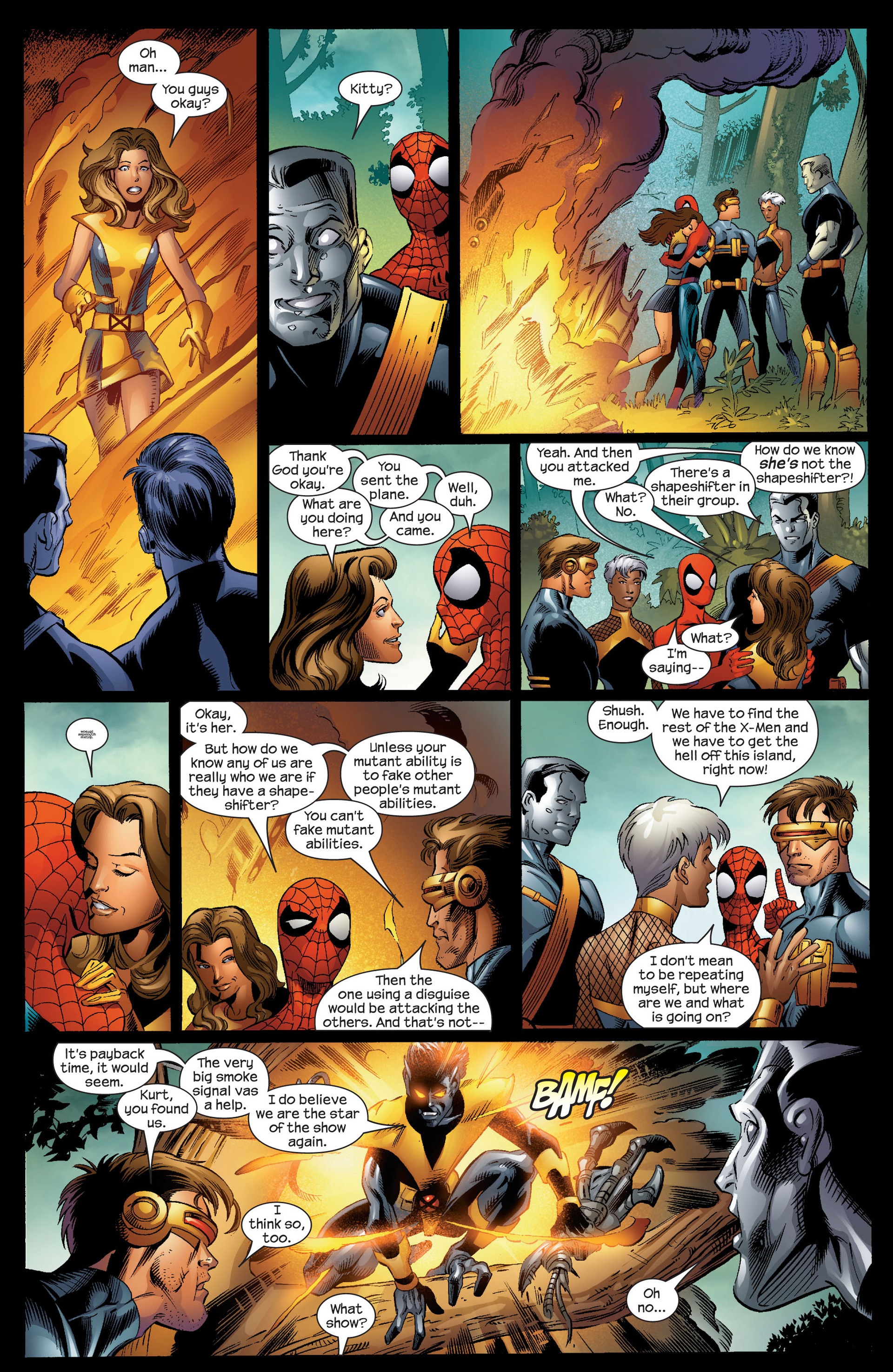 Read online Ultimate Spider-Man (2000) comic -  Issue #92 - 19