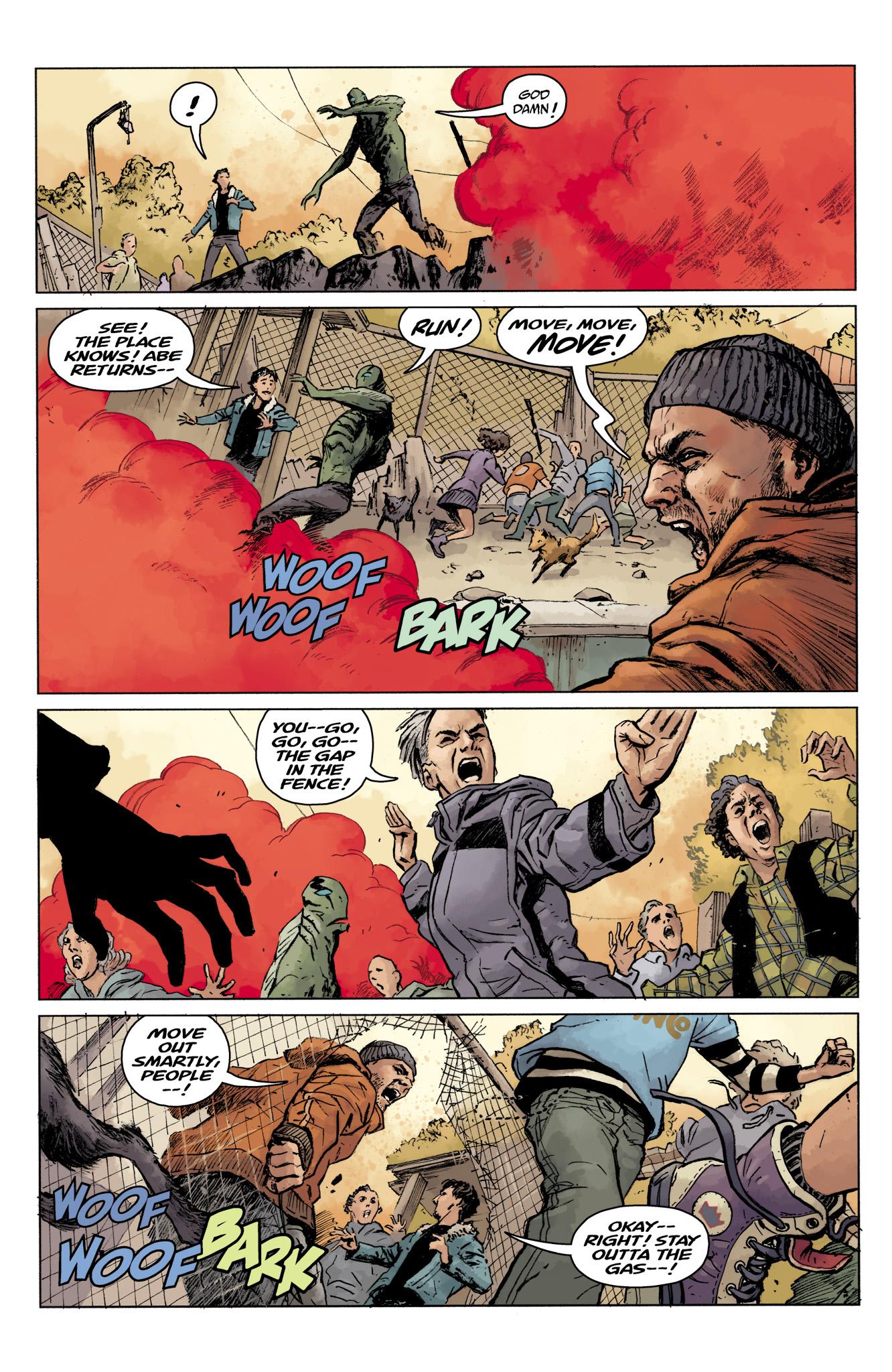 Read online Abe Sapien comic -  Issue #16 - 10