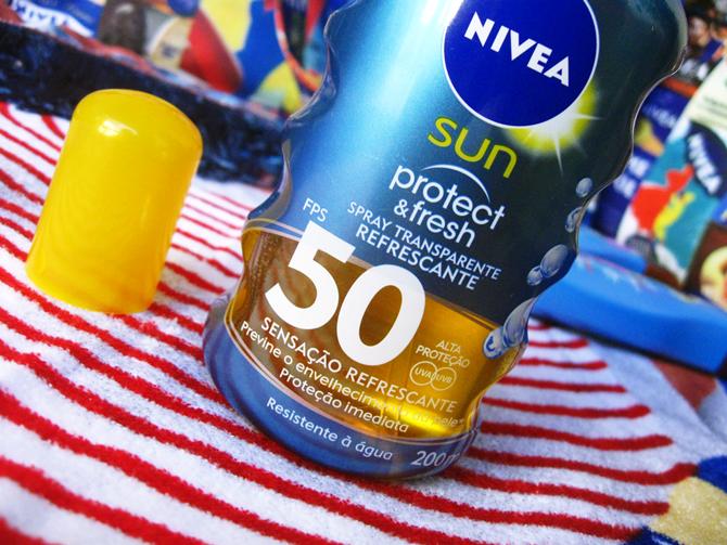 Nivea Sun Protect & Fresh 50