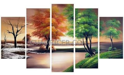 http://www.cuadricer.com/cuadros-pintados-a-mano-por-temas/cuadros-arboles/naturaleza-paisaje-arboles-verano-otono-cuadros-modernos-espana-2228-salones-comedores-cocinas.html