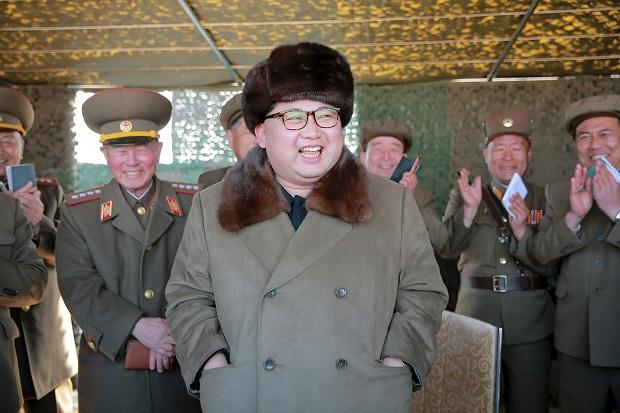 Korea Utara Sukses Uji Mesin Roket Balistik