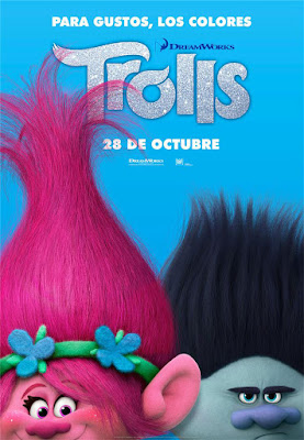 Póster en español de 'Trolls'