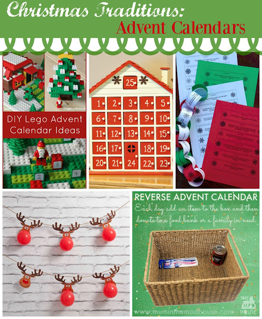 Reverse Advent Calendar Ideas : Christmas tradition ideas the scrap shoppe
