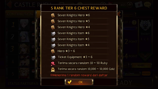 tips dapat gold seven knights