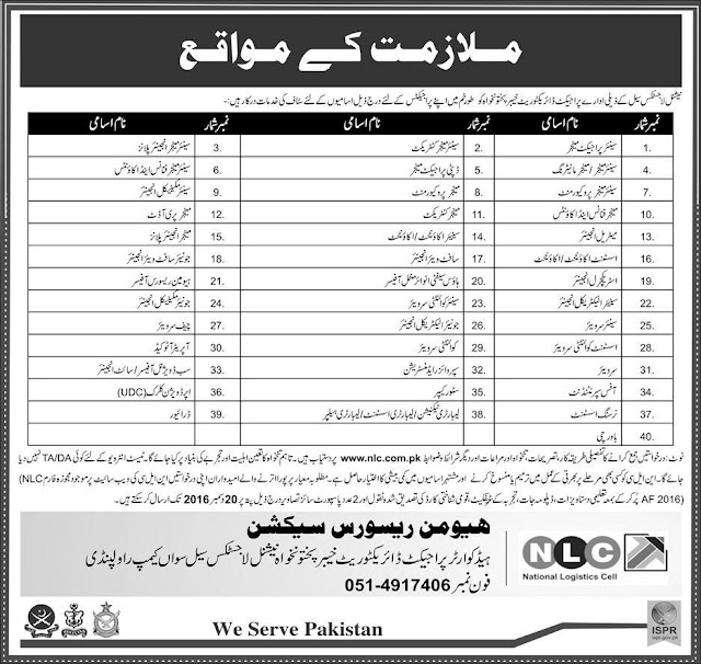 Jobs in NLC National Logistic Company Jobs