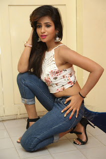 Deekshita Parvathi in a short crop top and Denim Jeans Spicy Pics Beautiful Actress Deekshita Parvathi January 2017 CelebxNext (97).JPG