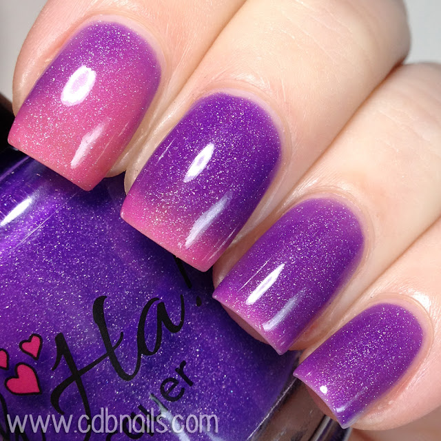 Ah-Ha Nail Lacquer-Powerful Punch