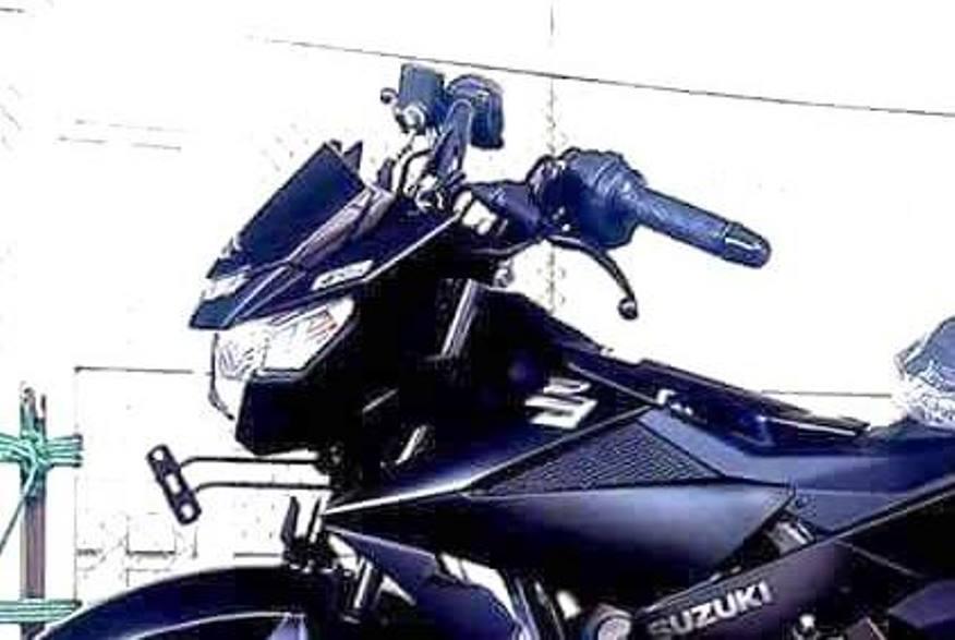Ini dia penampakan utuh dari All New Suzuki Satria F150 Black Predator . . wah angker bener !