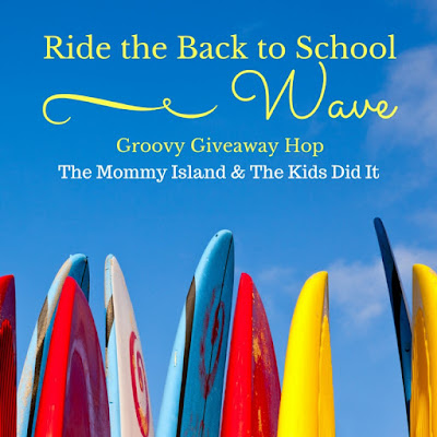 Ride The Back To School Wave #GroovyGiveaway Hop