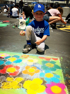 Chalk It Up 2012, Kids Art,