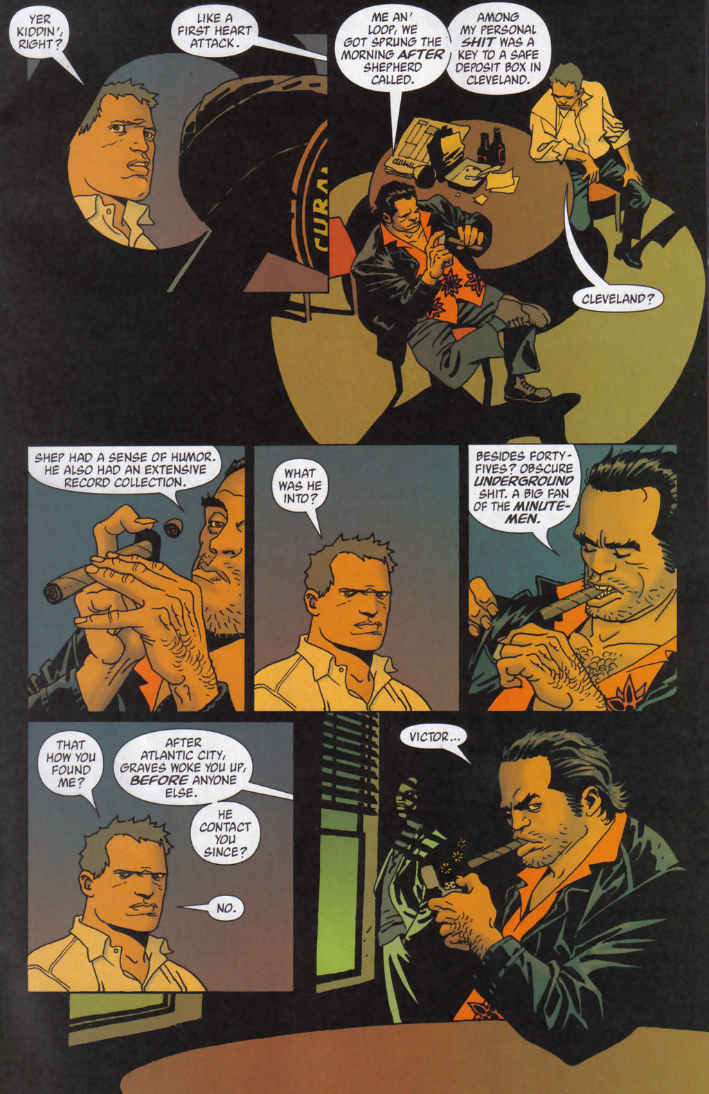 Read online 100 Bullets comic -  Issue #59 - 10