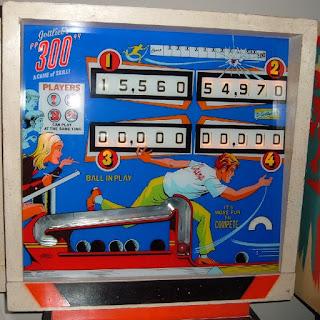Flipper mécanique 300 de GOTLLIEB 1975