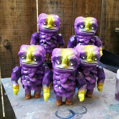 Designer Con 2012 Exclusive The MAXXakuri Custom Vinyl Figure Series by Nebulon5