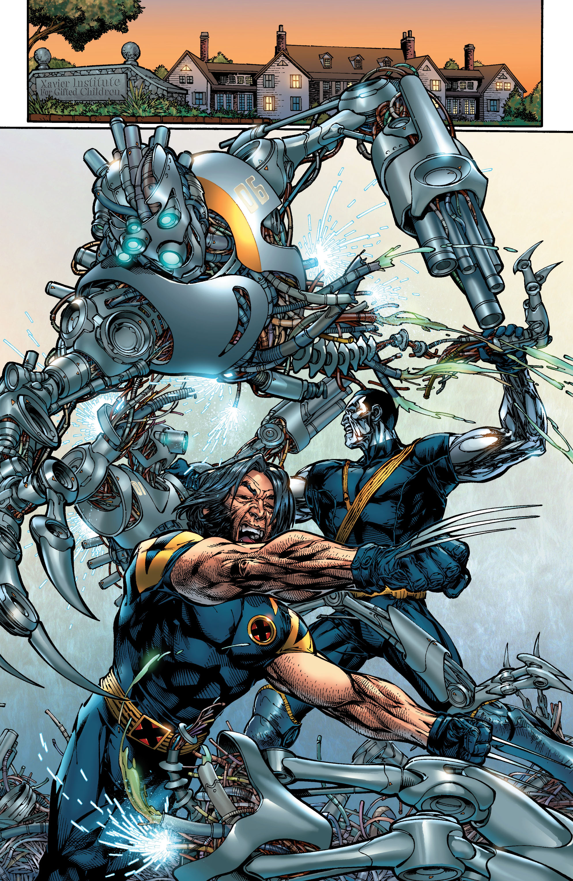 Read online Ultimate X-Men comic -  Issue #46 - 8