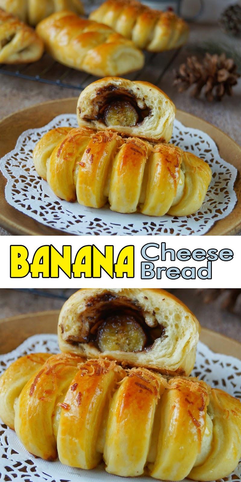 BANANA CHEESE BREAD