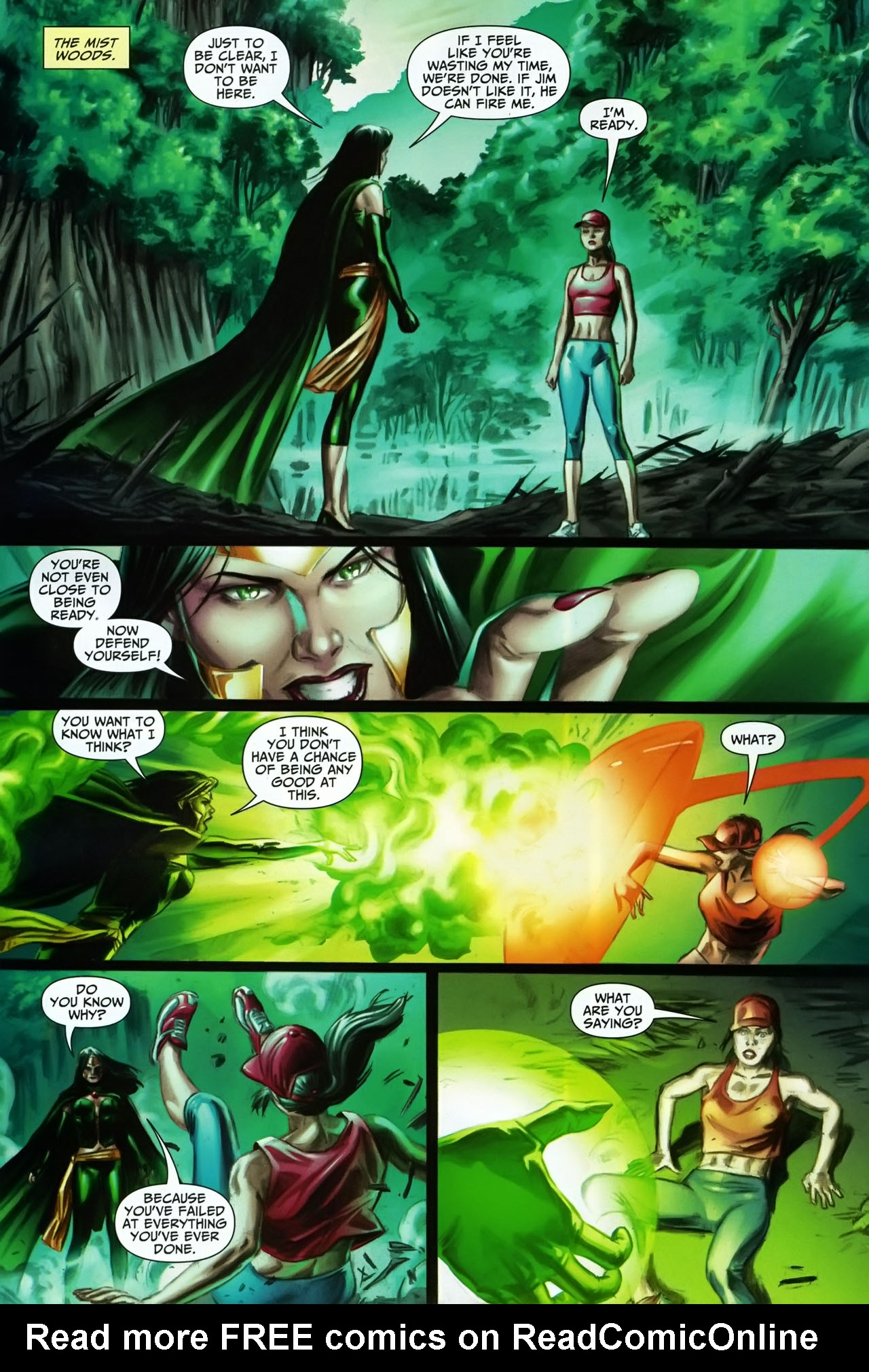 Read online Shadowpact comic -  Issue #17 - 18