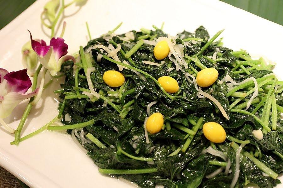 南投美食-滿漢全席大餐/日月湧泉蔬