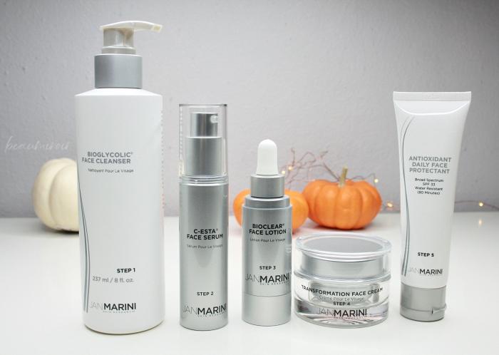 antiaging regimen skincare routine fine lines sun spots elasticity