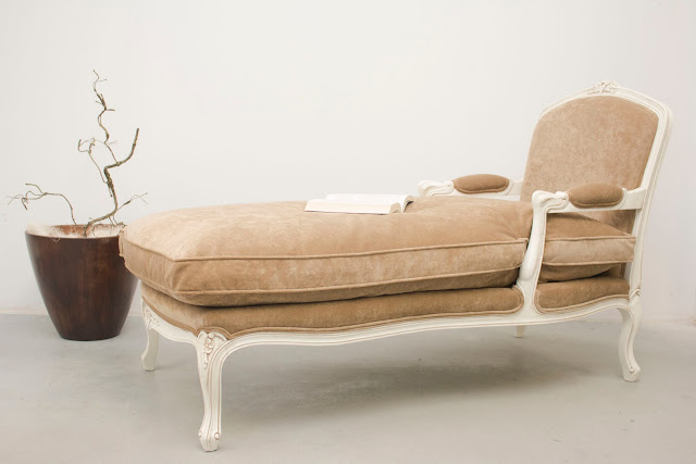 Loungesessel in Beige