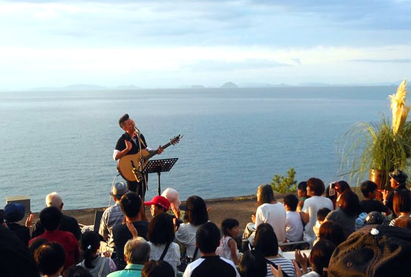 Sunset Platform Concert at Shimonada