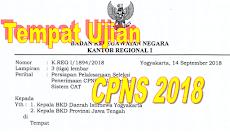 Cek Tempat Lokasi Ujian CPNS 2018