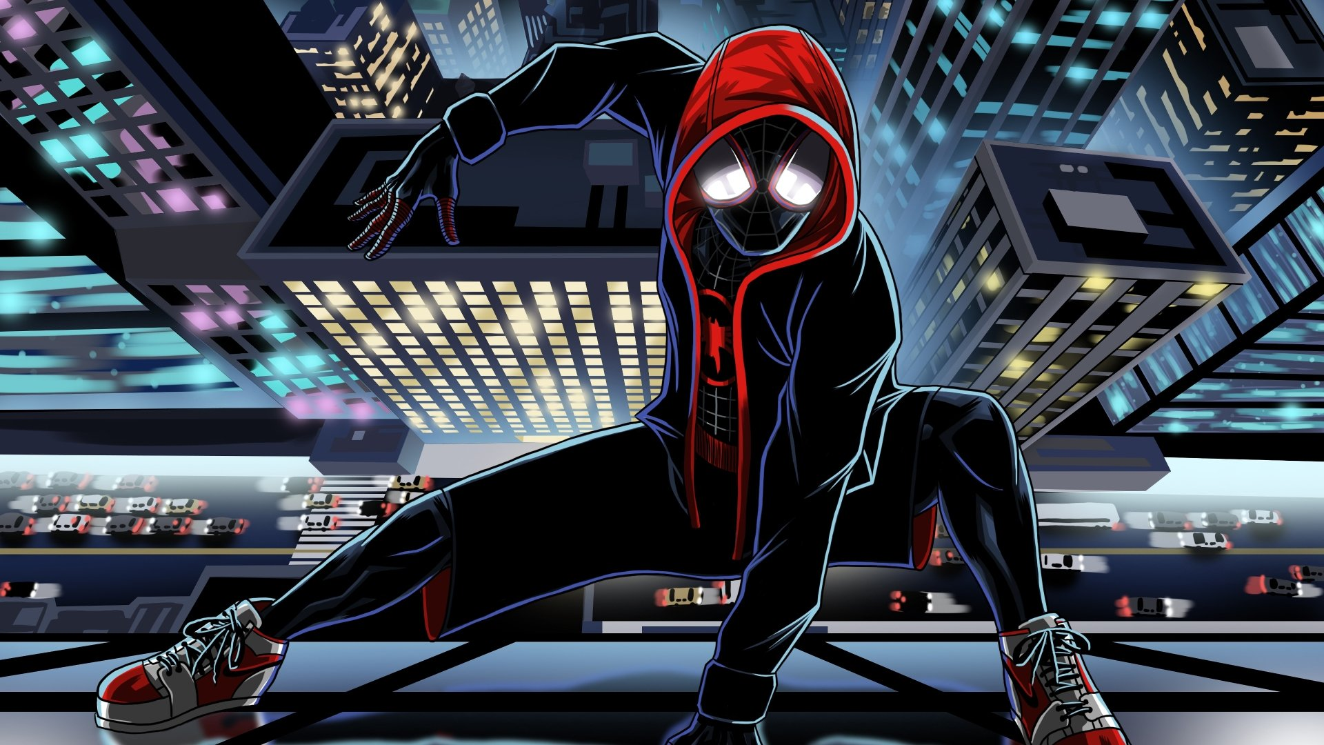 Spider Man Into The Spider Verse Wallpapers Read Games Review