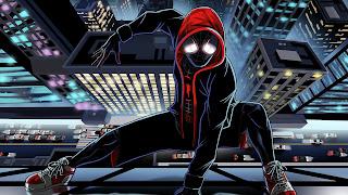 Spider-Man Into The Spider Verse HD Background