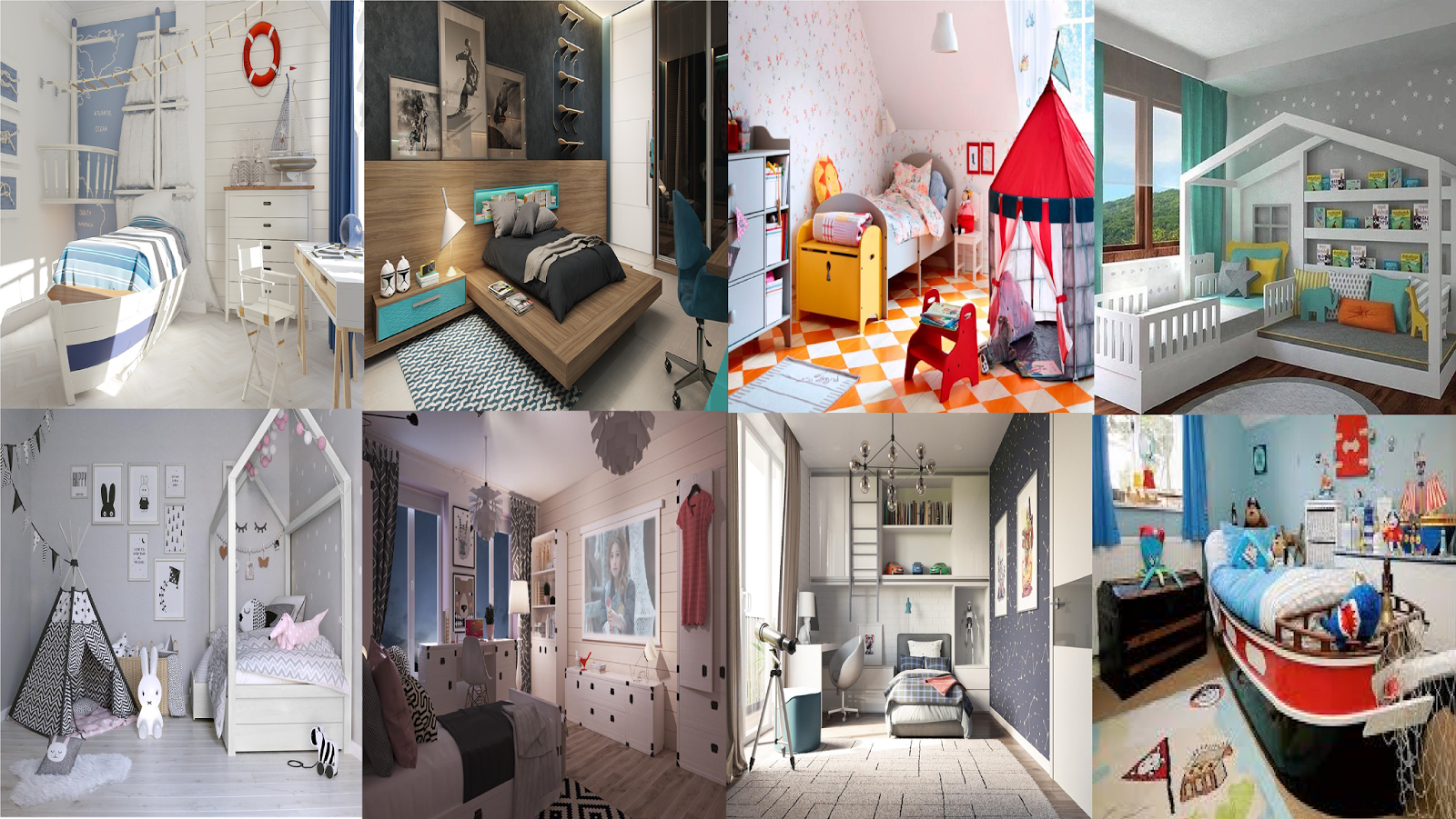 Http://www.home Designing.com/awesome Kids Rooms Where Fun Style Merge