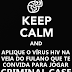 KEEP CALM´S PROIBIDOS