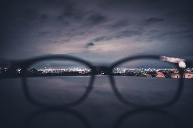 Environmentally-friendly travel eyeglasses