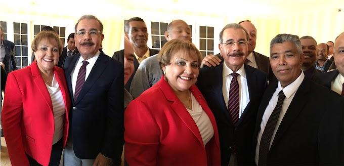 Danilo se reunió con  seccional del PLD en Nueva Inglaterra;  informó a dirigentes sobre  obra de gobierno
