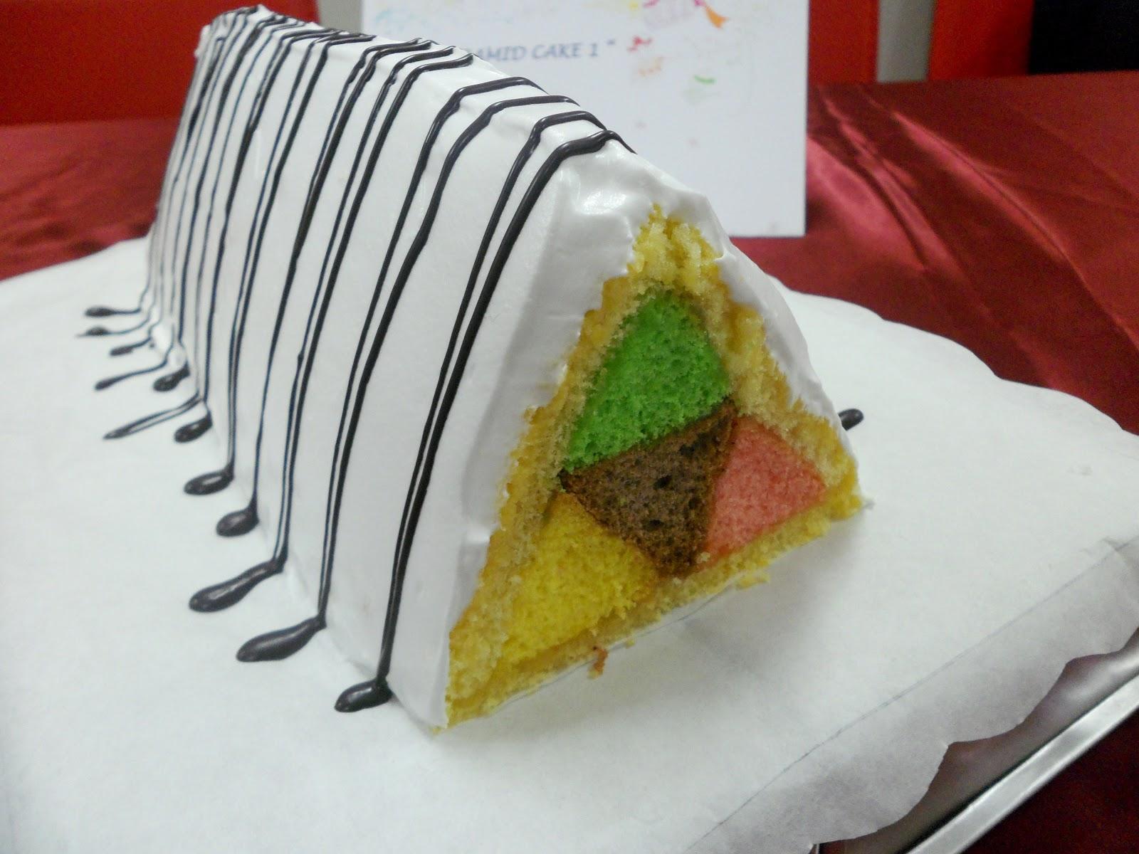 Ditra Patisserie Pyramid Cake