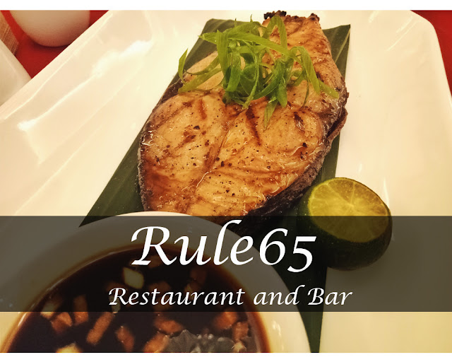 Rule65, A Filipino Restaurant