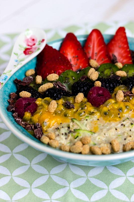 Zoats - Das gesunde Frühstück mit Haferflocken und Zucchini ...