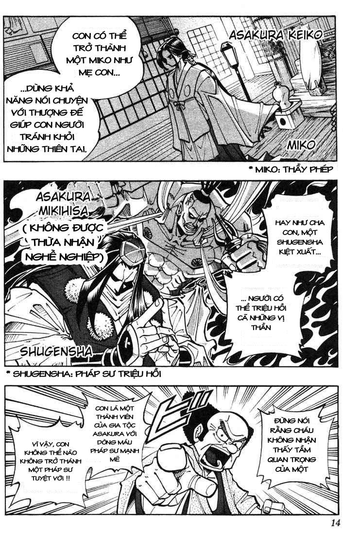 Shaman King [Vua pháp thuật] chap 9 trang 10