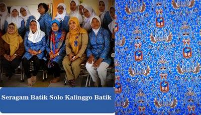 Seragam Batik Solo Kalinggo Batik Seragam Batik Printing pertamina