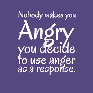 Nobody makes you angry - inspirational life quotes