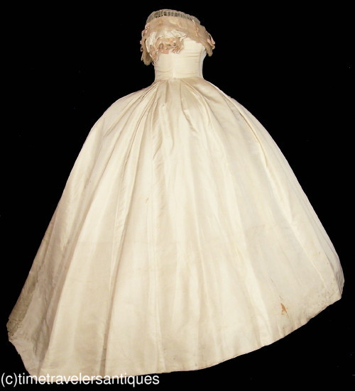 All The Pretty Dresses American Civil War Era Wedding Gown