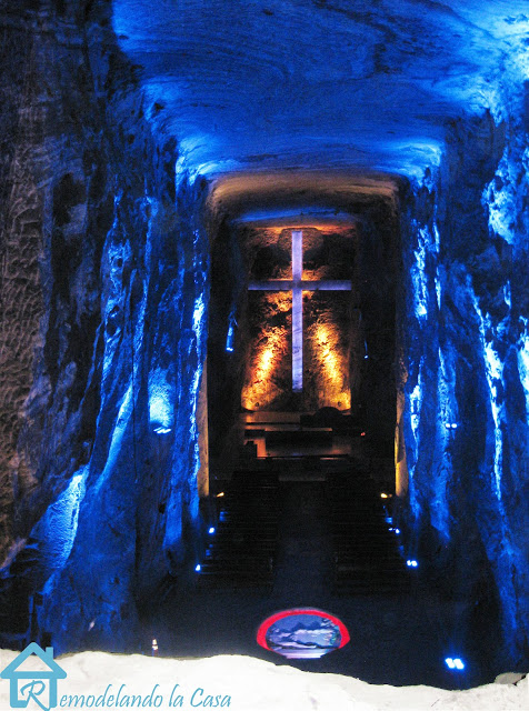 a salt mine converted into a church