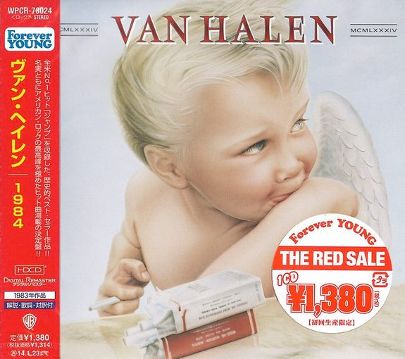 VAN HALEN - 1984 [Japan edition remastered - Forever Young series] Out Of Print - full