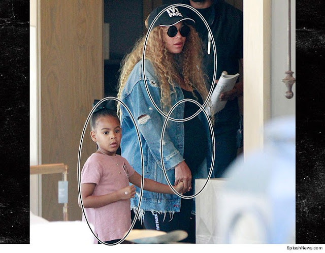Beyonce Looses strength while shopping with Blue Ivy
