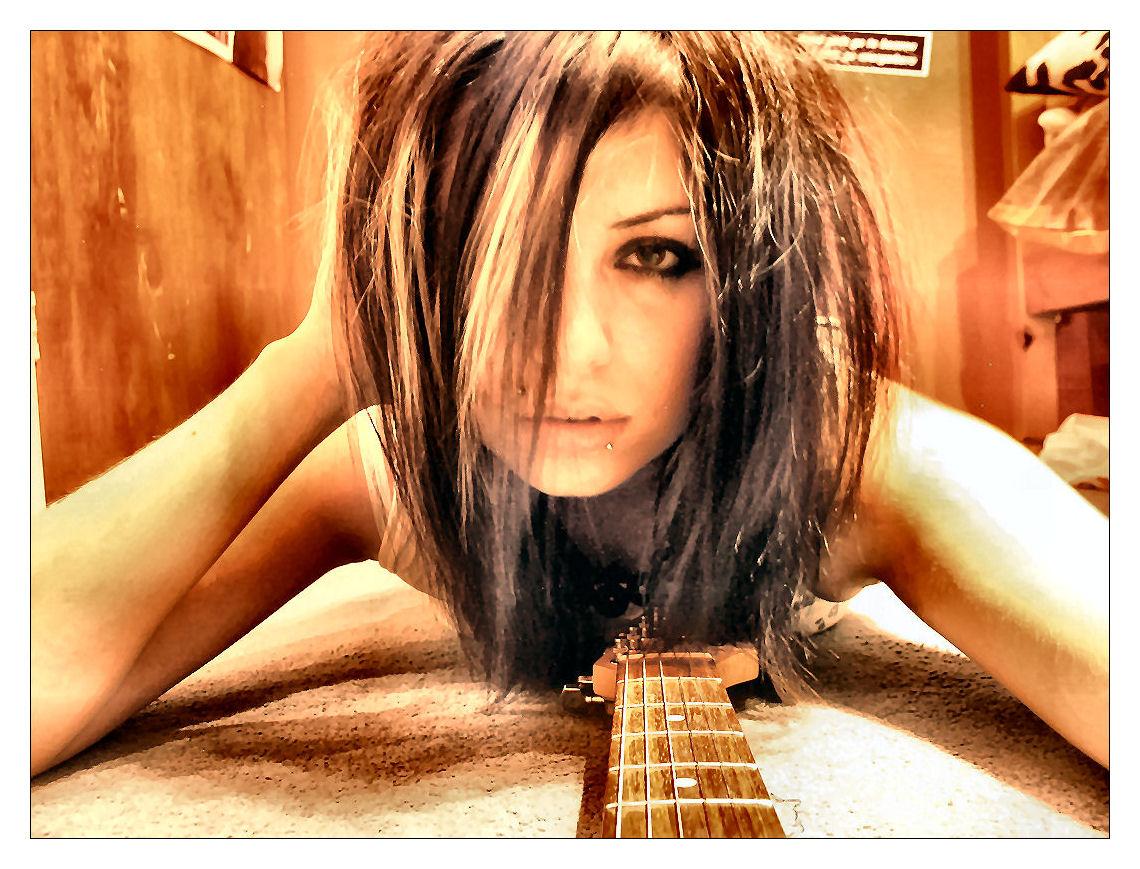 guitar snob girls with guitars. Black Bedroom Furniture Sets. Home Design Ideas