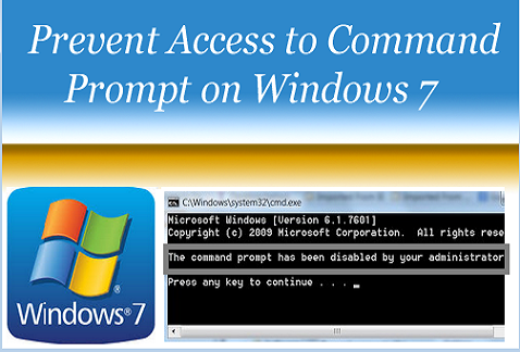 Prevent Access to Command prompt