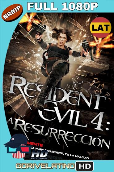 Resident Evil 4: La Resurrección (2010) BRRip 1080p Latino-Ingles MKV